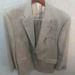 Chaps Ralph Lauren Brown Tan mens lambs wool 46R